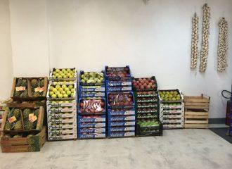 Fornitura frutta e verdura selezionata